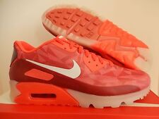 NIKE AIR MAX 90 ICE LASER CRIMSON-WHITE-LEGION RED SZ 10.5 [631748-601]
