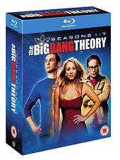 The Big Bang Theory - Season 1-7 [Blu-ray] [2014] [Region Free] New Factory Seal