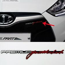 Detailpart Slim Emblem Veloster Slogan Car Emblem Sticker for Hyundai Veloster