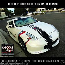 Whole Stripes Fits NISSAN 350Z 370Z  Hood, Roof and Rear  2006-2015 any Z series