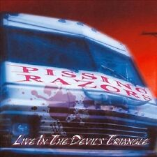 Live in the Devil's Triangle by Pissing Razors (CD, Nov-2002) BRAND NEW, SEALED