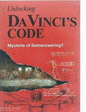 DVD - UNLOCKING DA VINCI'S CODE - DEUTSCH  ENGLISH / sub ITALIANO FRANCAIS  NL