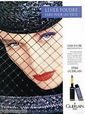 Publicité Advertising 1988 Cosmétique maquillage Guerlain