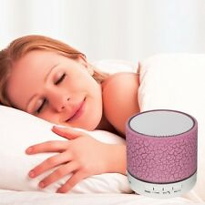 New Mini Portable Bluetooth Wireless Speakers With TF USB FM Mic Blutooth *Pink*