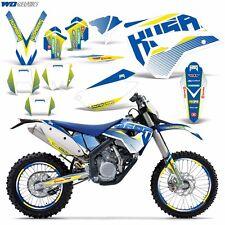 Husaberg FS FE 390 450 570 Graphic Sticker Kit Bike Decal MX Wrap 2009-2012 BERG