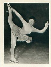 Ingrid Wendl Austria Figure Skating OLYMPIC GAMES 1956 CARD