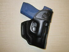 S&W M&P SHIELD 9MM & 40 CAL. formed owb leather belt holster