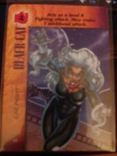 Marvel Overpower Powersurge Black Cat - Cat Fight X2 NrMint-Mint Card