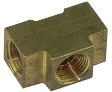 62-63 Pontiac Pump to Carburetor Carb Fuel Lines Dual Quad SD Brass Block Notch