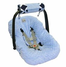 Itzy Ritzy Wrap & Roll Infant Carrier Arm Pad & Tummy Time Mat, Social Circle