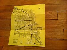 Vintage Center For Continuing Education Chicago Illinois Map Information sheet