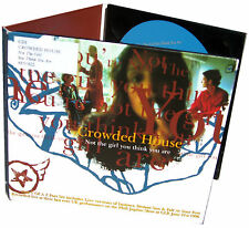 CROWDED HOUSE CD Not The Girl You Think You Are DIGI-PACK 4 TRACK w/ 3 LIVE NEW!