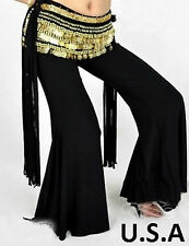 Belly Dance Harem Tribal Melodia Fusion Yoga Pants Dance Costume LARGE SIZE