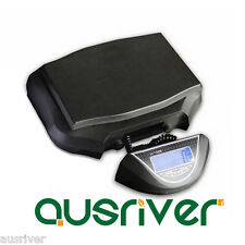 Electronic Commercial Shop 25kg/1g Digital Postal Scales LCD Backlight Black