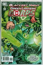 DC Comics Green Lantern Corps #42 January 2010 Blackest Night VF+