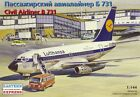 Eastern Express 1/144 Boeing 737-100 Lufthansa Civil Airliner