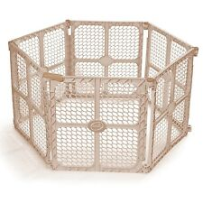 NEW Summer Infant Secure Surround Play Pen Playard Yard Baby Gate Portable Tan
