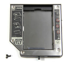 Second SATA Hard Drive Adapter Bay Caddy LENOVO Thinkpad T420 T520 W520 12.7mm