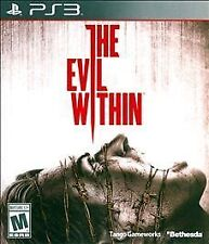 THE EVIL WITHIN PS3! ZOMBIES, HUNT, FIGHT, SURVIVAL HORROR GORE WALKING DEAD