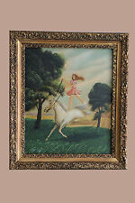 """1970's Thomas Kerry Oil Painting Pair 20"""" x 24"""" Framed (1 Painting Signed)"""