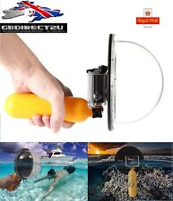 "6"" Scuba Diving Underwater Camera Lens Dome Cover Shell Grip For GoPro 3 3+ 4 UK"