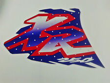Graphics tank Decal for Honda XR250 (1996 style )