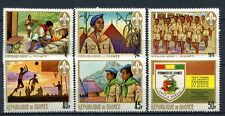 Guinea 1969 SG#693-8 Pioneer Youth Org. Boy Scouts MNH Set #A32397