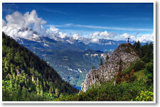 Valley View - Stunningly Beautiful America Mountains NEW Art Print Photo POSTER
