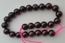 Grenat perles 8mm ronde ~ semi précieux gemme x20