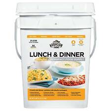 Augason Farms Lunch & Dinner Emergency Food Supply 13 lb