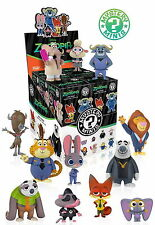 Case of 12: Funko Mystery Minis Blind Box Figures - Disney Zootopia