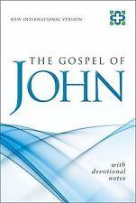 NIV The Gospel of John: With Devotional Notes (pk of  10), Zondervan
