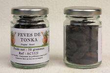 AC332I FEVES de TONKA (NOIX de TONKA) verrine de 50 grammes
