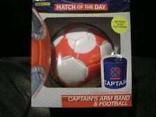 BBC SPORT - MATCH OF THE DAY - CAPTAIN'S ARMBAND + FOOTBALL - NEW