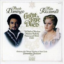 Placido Domingo: Great Love Duets, New Music