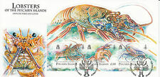Pitcairn Islands 2013 FDC Lobsters 3v Cover Easter Island Spiny Lobster Marine