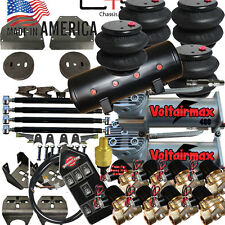 Voltair 73-87 C10 Air Suspension Kit w/ 1/2 Valves AVSX 7-Switch 8Valves 8-tank