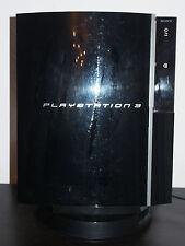 Sony PlayStation 3 80GB Piano Black Spielekonsole mit Spielen und Zub.