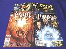 NIGHT FORCE #1-6 (DC/2012/Wolfman/Mandrake/1114512) COMPLETE SET LOT OF 6