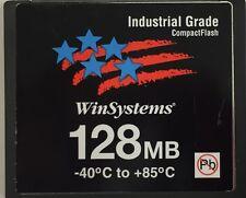 128MB Industrial Grade Temp Compact Flash CF Card Router POS Cisco Juniper