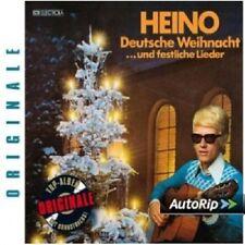 HEINO - DEUTSCHE WEIHNACHT UND FESTLICHE LIEDER (ORIGINALE  CD NEU