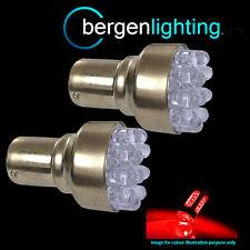 382 1156 BA15s 245 207 P21W XENON RED 12 DOME LED REAR FOG LIGHT BULBS RF200202