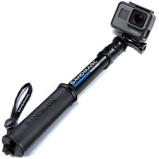 "SANDMARC® Pole - Compact Edition: 10-25"" Telescoping Pole (Stick) for GoPro"