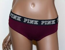 NWT Victoria's Secret Pink RUBY RED Panties Extra Low Rise Cheekster SMALL S