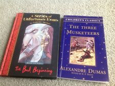 Series of Unfortunate Events & The Three Musketeers books