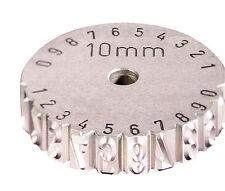 GRAVUREM-Schlagrad / Scheibenschlagstempel 0-9 10mm