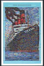 Guinea 2000 TITANIC/NAVI/Barche/Naufragi/Trasporto/mosaico 8v Sht (b2003x)