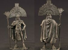 tin toy soldiers unpainted  54mm Indian tribal leader
