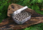 250 x 6MM SMK SUPERFAST SOLID STEEL SLINGSHOT/CATAPULT AMMO WITH CARRY TIN