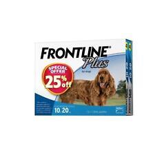 Frontline Plus 12 Pack for Medium Dogs 10-20kg